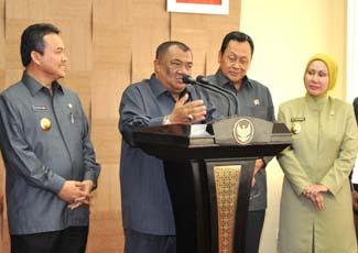 gubsu Gubsu Minta Pelaksanaan Penerimaan CPNS Serentak dan Bebas KKN, Jumlah Formasi 14.053 Orang