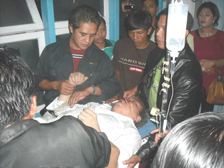 Ephorus HKBP Kecelakaan