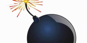 Ilustrasi bom