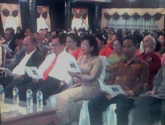 acara doa Syukuran Parsadaan Toga Sihombing (Partogi) Kota Tarutung di