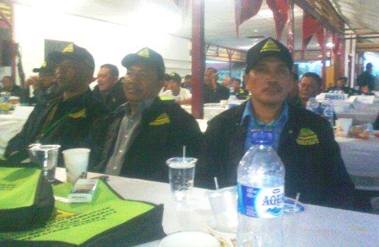 Mewakili Taput hadir al Ramlan Nababan, AMd, Efendi Nababan, Erwin Nababan SPd dll (foto : Ramlan Nababan)